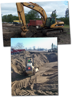 Site work and excavation